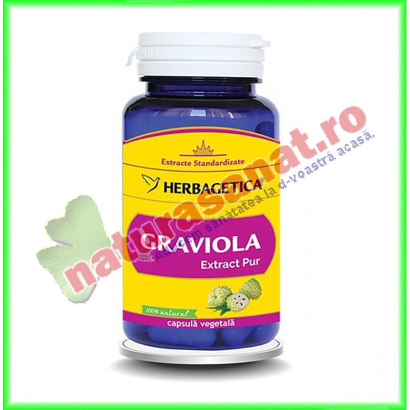 Graviola Extract Pur 60 capsule - Herbagetica