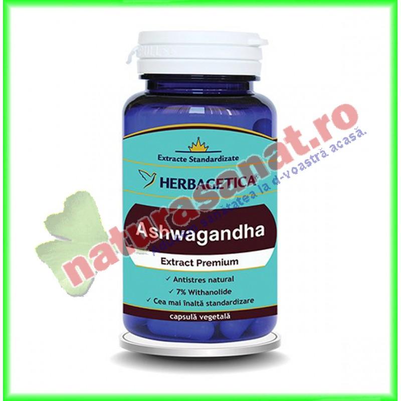 Ashwagandha Extract Premium 60 capsule - Herbagetica