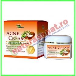 Crema Antiacneica cu Extract de Neem (Acne Cream) 50ml - Star International