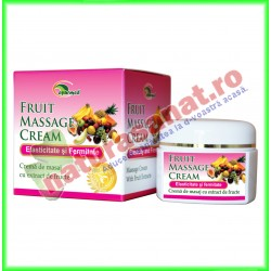 Crema de masaj cu extract de fructe (Fruit Massage Cream) 50ml - Star International