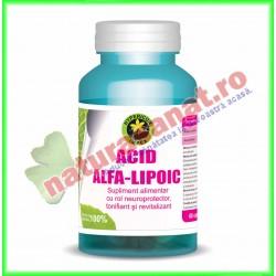 Acid Alfa Lipoic 60 capsule - Hypericum Impex