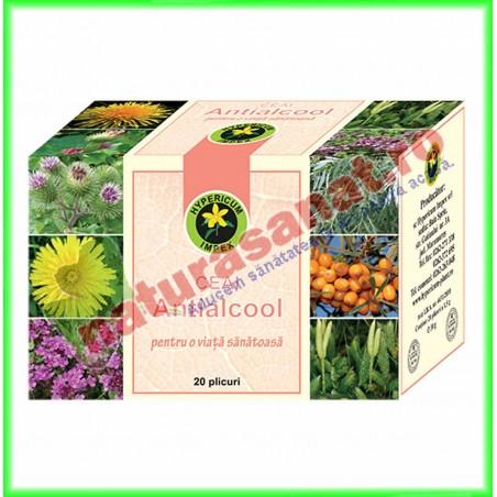 Antialcool Ceai 20 plicuri - Hypericum Impex