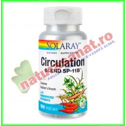 Circulation Blend 100 capsule - Solaray - Secom