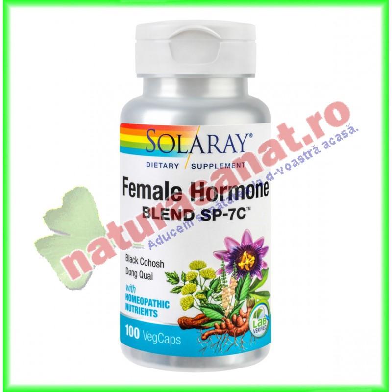 Female Hormone Blend 100 capsule - Solaray - Secom