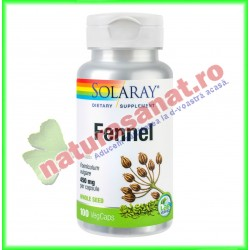 Fennel (Extract Fenicul) 450mg 100 capsule - Solaray - Secom