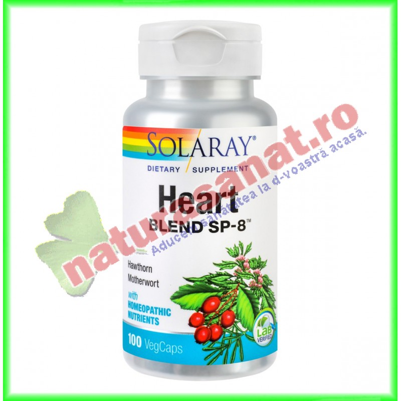 Heart Blend 100 capsule - Solaray - Secom