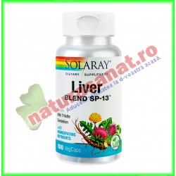 Liver Blend 100 capsule - Solaray - Secom