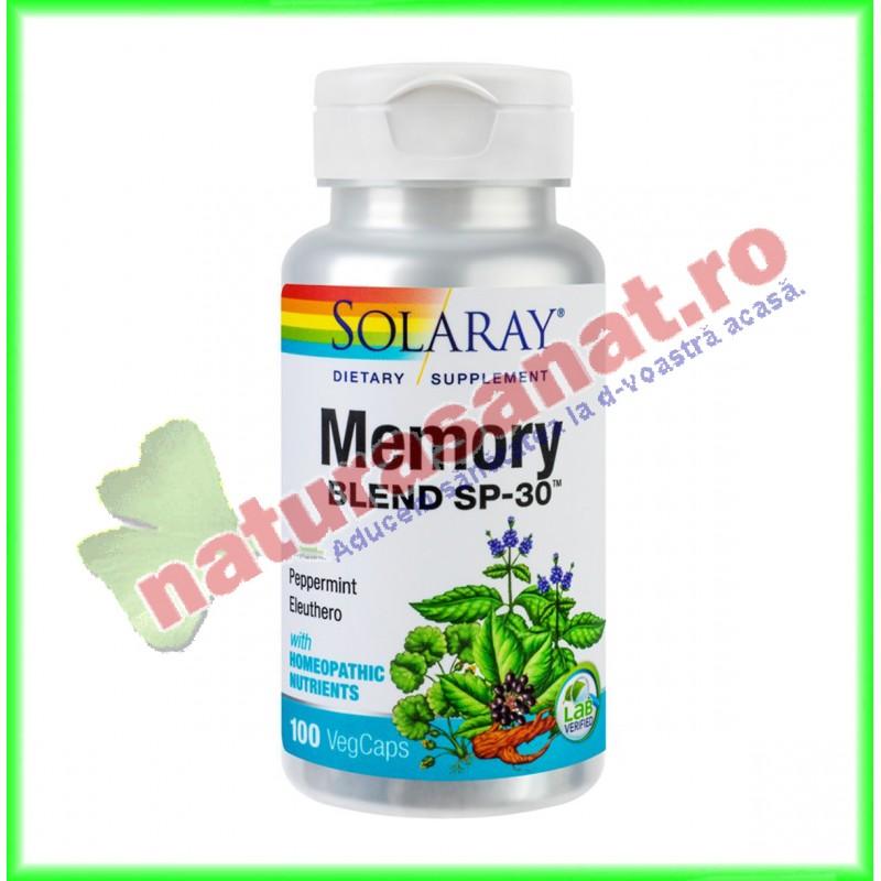 Memory Blend 100 capsule - Solaray - Secom