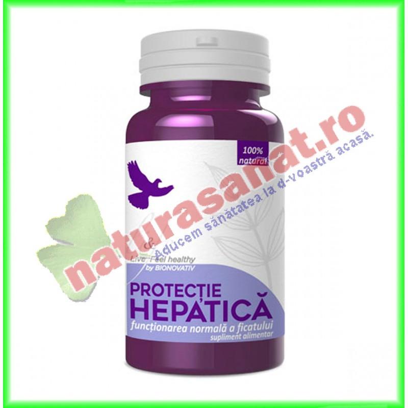 Protectie Hepatica 120 capsule - Bionovativ