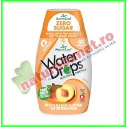 Water Drops cu Piersica si Mango ( Indulcitor Stevie ) 48 ml - Sweetleaf