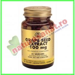 Extract din seminte de struguri ( Grape Seed Extract ) 100 mg 30 capsule - Solgar