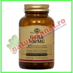 Gaba 500 mg 50 capsule - Solgar