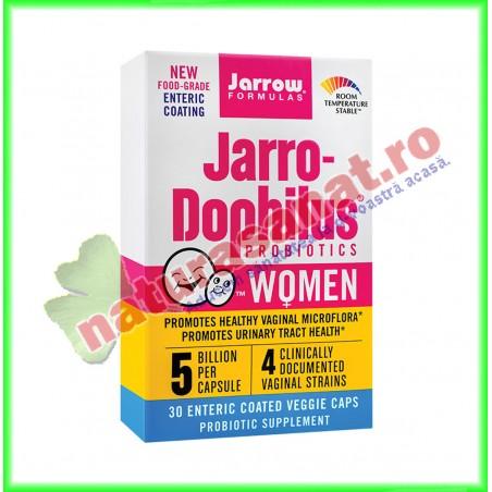 Jarro-Dophilus Women 30 capsule vegetale filmate gastrorezistente - Jarrow Formulas - Secom