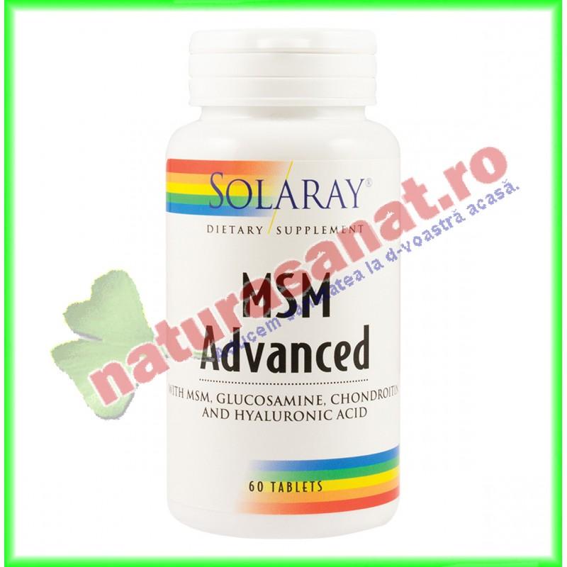 MSM Advanced 60 tablete ActivTab - Solaray - Secom