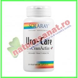 Uro-Care with CranActin 30 capsule vegetale - Solaray - Secom