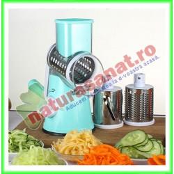 Tocator de legume cu tambur rotativ / Chopper pentru alimente