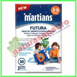 Minimartieni Futura 3-6 ani 30 tablete masticabile - Walmark