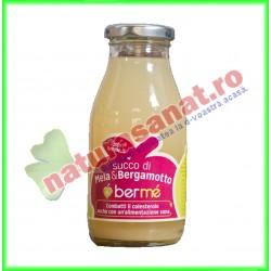 Suc de Mere cu Bergamota Sticla 250 ml - Berme