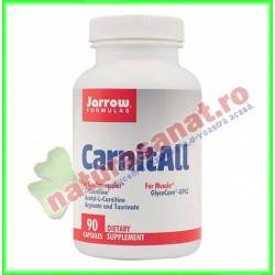 Carnit ALL 600+ 90 capsule vegetale - Jarrow Formulas - Secom