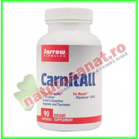 Carnit ALL 600+ 90 capsule vegetale - Jarrow Formulas - Secom