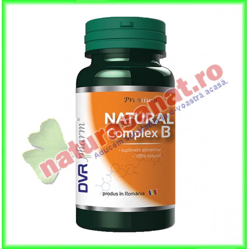 Natural Complex B 60 capsule - DVR Pharm