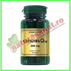 Coenzima Q10 200 mg 30 capsule - Cosmo Pharm