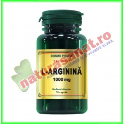L-Arginina 1000 mg 30 capsule - Cosmo Pharm