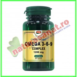 Omega 3-6-9 Complex 1206 mg 60 capsule - Cosmo Pharm