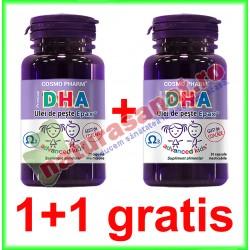DHA Premium 30 capsule PROMOTIE 1+1 GRATIS - Cosmo Pharm