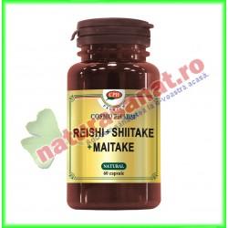 Reishi + Shiitake + Maitake 60 capsule - Cosmo Pharm