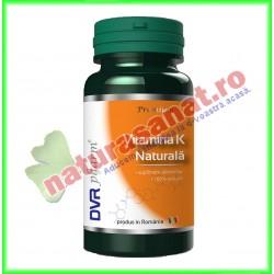 Vitamina K Naturala 60 capsule - DVR Pharm