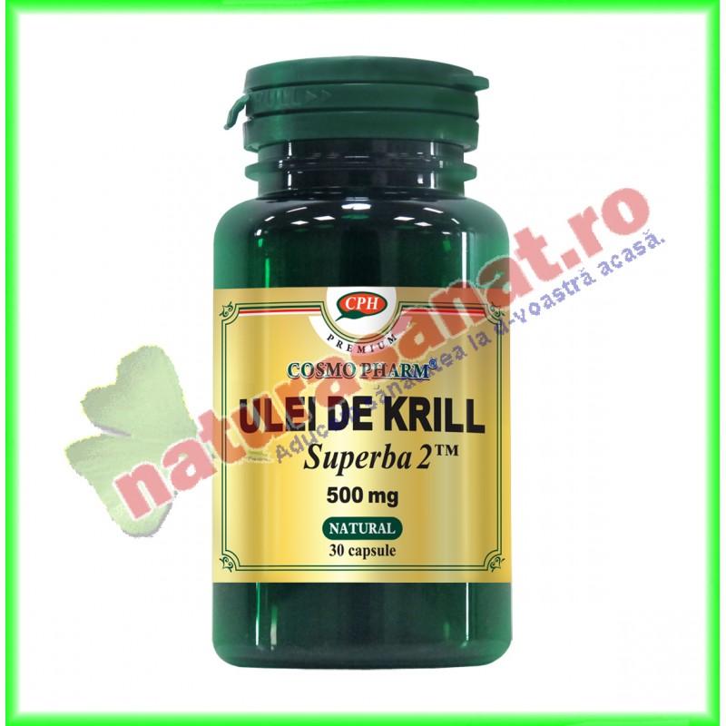 Ulei de Krill Superba 2 500 mg 30 capsule - Cosmo Pharm