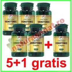 Venotonic Complex 60 capsule PROMOTIE 5+1 GRATIS - Cosmo Pharm