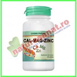 Calciu + Magneziu + Zinc 30...