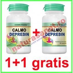Calmo Depresin 30 capsule PROMOTIE 1+1 GRATIS - Cosmo Pharm