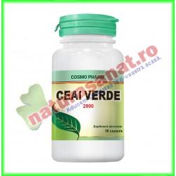 Ceai Verde Extract 30 capsule - Cosmo Pharm