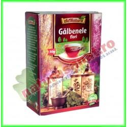 Ceai Galbenele Flori 50 g -...