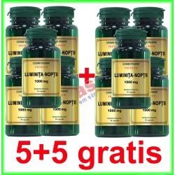 Luminita Noptii 1000 mg 30 capsule PROMOTIE 5+5 GRATIS - Cosmo Pharm