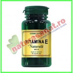 Vitamina E Naturala 550 mg 30 capsule moi - Cosmo Pharm