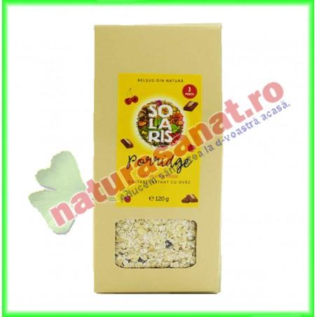 Porridge Ciocolata si Cirese 120 g - Solaris