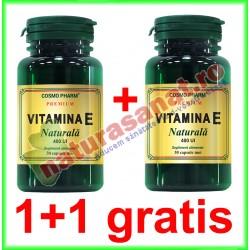 Vitamina E Naturala 550 mg 30 capsule moi PROMOTIE 1+1 GRATIS - Cosmo Pharm