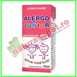 Alergo Junior Sirop 125 ml - Cosmo Pharm