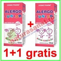 Alergo Junior Sirop 125 ml PROMOTIE 1+1 GRATIS - Cosmo Pharm