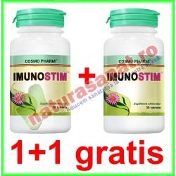 Imunostim 30 tablete PROMOTIE 1+1 GRATIS - Cosmo Pharm