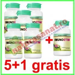 Imunostim 30 tablete PROMOTIE 5+1 GRATIS - Cosmo Pharm