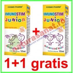 Imunostim Junior Sirop 125 ml PROMOTIE 1+1 GRATIS - Cosmo Pharm