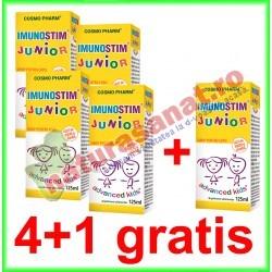 Imunostim Junior Sirop 125 ml PROMOTIE 4+1 GRATIS - Cosmo Pharm