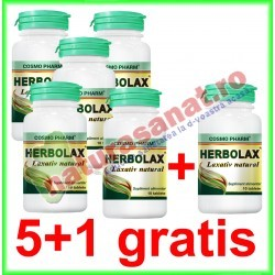 Herbolax 10 tablete PROMOTIE 5+1 GRATIS - Cosmo Pharm