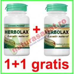 Herbolax 30 tablete PROMOTIE 1+1 GRATIS - Cosmo Pharm