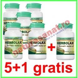 Herbolax 30 tablete PROMOTIE 5+1 GRATIS - Cosmo Pharm
